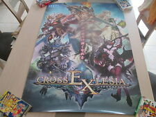>> SHINING FORCE CROSS EXLESIA SEGA ARCADE B1 SIZE OFFICIAL POSTER! <<
