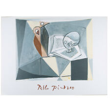 """Nature Morte (Skull)"" by Picasso Ltd Edition of 1000 Lithograph 21 1/2x29 1/2"""