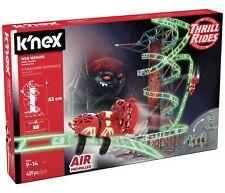 K 'NEX Web Weaver Roller Coaster Building Set 9+ Ans Entièrement neuf dans sa boîte Navires Rapides