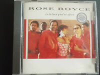 ROSE  ROYCE  -   IS IT LOVE YOUR AFTER,   CD   1988 ,   DISCO,  FUNK , SOUL