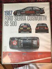 Eggenberger Ford Sierra RS500 Print In Frame