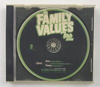 The Family Values Tour 2006 CD Rare PROMO KORN, Flyleaf, Deadsy (Firm Music)