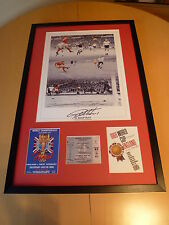 Framed Sir Geoff Hurst Signed 1966 World Cup Winner Display - England - C.O.A.