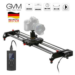 GVM GR-80QD 80cm Kamera Video Slider Kameraschienen Slider für DSLR Kamera D4E9