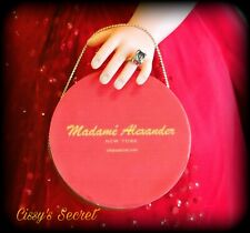 Rare Red Vintage Style Hat Box For Madame Alexander Cissy