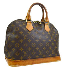 LOUIS VUITTON ALMA HAND BAG PURSE MONOGRAM VINTAGE bm M51130 A54594