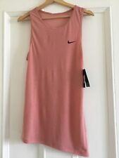 Femmes Nike Bandelette Entraînement Réservoir Rose TAILLE XS