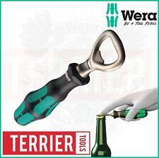 WERA Kratform GREEN Screwdriver Style Drink/Beer Bottle Opener Handle, 030005