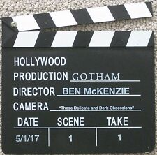 GOTHAM FOX PROMOTIONAL PRODUCTION SLATE CLAPPER BOARD BEN McKENZIE DIRECTOR