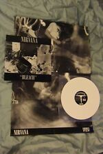 Nirvana, Bleach, First Press From 1989, With Poster, On White Wax, Sub Pop