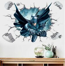 US 3D Wall Stickers Batman Bat Man Kids Cartoon Room Decal Wallpaper Removable