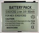 New Battery - Replaces Motorola BK70 - i335 / i876 / IC402 / IC502 / IC602 / Z8