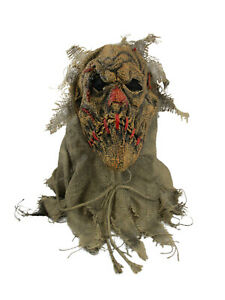 Batman The Scarecrow Burlap Mask Costume Accessory Adult One Size Natural