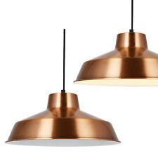 [lux.pro] Lámpara colgante diseño de techo cobre metal [Ø35cm] estilo retro