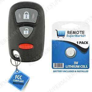 Car Transmitter Alarm Remote Key Fob Control for 2007 2008 2009 Suzuki XL-7 420