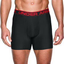 Under Armour Original 6 Inch Mens Boxer Jock Black Sports Underwear Authentic S