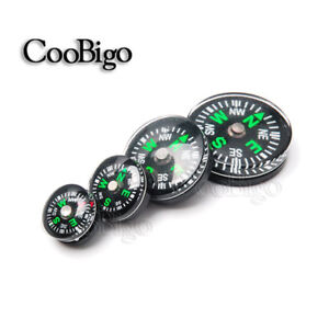 Mini Button Compass Clear Liquid filled Small Portable Outdoor Kit 12 14 20 25mm