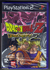 PS2 Dragonball Z: Budokai 2 (2003), UK Pal, Brand New & Factory Sealed