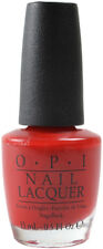OPI - A Oui Bit Of Red NL F19 France Red Shimmer Nail Lacquer / Polish O.P.I