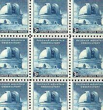 1948 - MOUNT PALOMAR - #966 Full Mint -MNH- Sheet of 70 Postage Stamps
