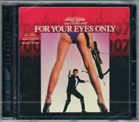 007 FOR YOUR EYES ONLY James Bond OST Bill Conti Sheena Easton Soundtrack CD NEU
