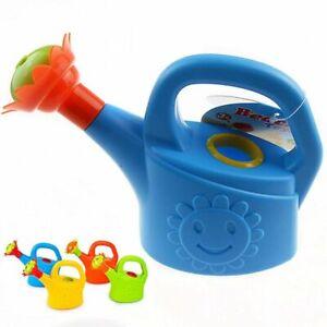 Home Sprinkler Garden Plastic Beach Cute Cartoon Flowers Kids Watering Can Toy