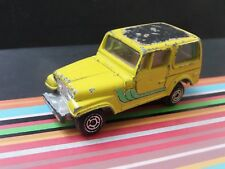 DINKY JEEP SMALL SCALE - YELLOW - APPROX.1:64 DIECAST