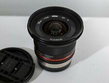 Rokinon (Samyang) 12mm f/2.0 NCS CS Lens - Fuji X Mount