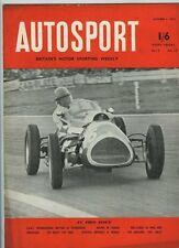 Autosport Oct 3rd 1952 * Goodwood encuentro Internacional *