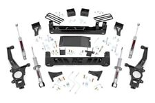 "Nissan Navara 6"" Lift Kit with struts (05-17 D40 models) Rough Country Llama 4x4"