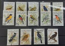 Malawi 1988 - Birds set of 14 used stamps