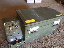 BW Batteriekasten für Natoblock aus Aluminium 24 V(Behälter,Batterie,Bundeswehr)