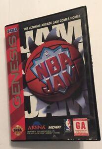 NBA Jam (Sega Genesis, 1994) Case doesn't close