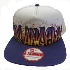 New Era 9FIFTY NBA Paint Over Los Angeles Lakers Team Snapback Hat