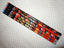 5 NEW Disney Pixar Cars Wooden Pencils Set School Supplies Lightning McQueen