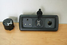 CBE Triple Frame,Campervan, 12v Socket, 240v Socket, Double 12v USB Socket MB