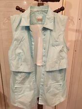 Columbia Sportswear Womens Sleeveless Fishing Hiking Shirt Vented Size Small