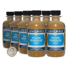 Iron Oxide Yellow 2 Lbs 8 Bottles 99 Reagent Grade 44 Micron Powder