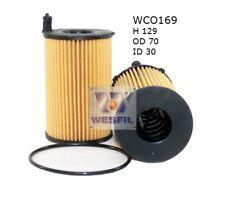 WESFIL OIL FILTER FOR Audi A8 3.0L V6 TDi 2010-on WCO169