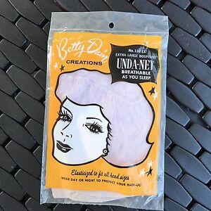Betty Dain Unda Net No 110 EX Bouffant Hair Net Vintage  NOS