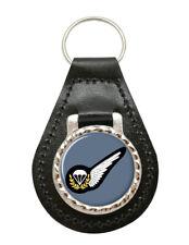 Parachute Jump Instructor Badge, RAF Leather Key Fob