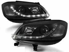 Scheinwerfer LED Tagfahrlicht Optik für Opel ZAFIRA A 1999-2005 Schwarz DE LPOP4