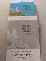 Andree Stieler Meyer & Co + Nachtrag 95, Espenhorst; Handatlas Bibliographie