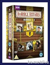 HORRIBLE HISTORIES - SERIES 1 2 & 3 - COMPLETE SERIES 1 2 & 3 *BRAND NEW DVD*
