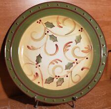 "Demdaco CRIMSON BERRIES Chop plate(s) / Round platter(s), 13 1/4"", Excellent"