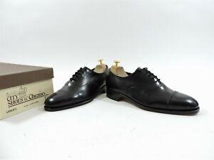 Unworn Church's Cheaney Mens Shoes Black Brogues UK 7.5 F EU 41.5 US 8.5
