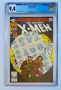 Uncanny X-Men #141 CGC 9.4 - 1st Rachel (Phoenix II) Marvel Days of Future Past!