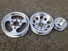 Lightweight pulley kit for VW Golf GTI Jetta Bettle 99-05 1.8T 2.0L 20V Polished