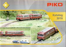 Piko 99530 brochure prospectus catalogue automne nouveautés 2014 piste g//h0//tt//n NEUF