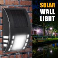 Solar Lampe LED Wandleuchte Wegbeleuchtung Treppen-Leuchte Gartenlampe  3